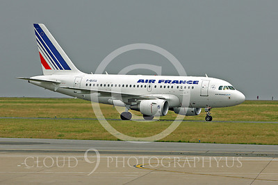 Air France Airline Airbus A318 Airliner Pictures