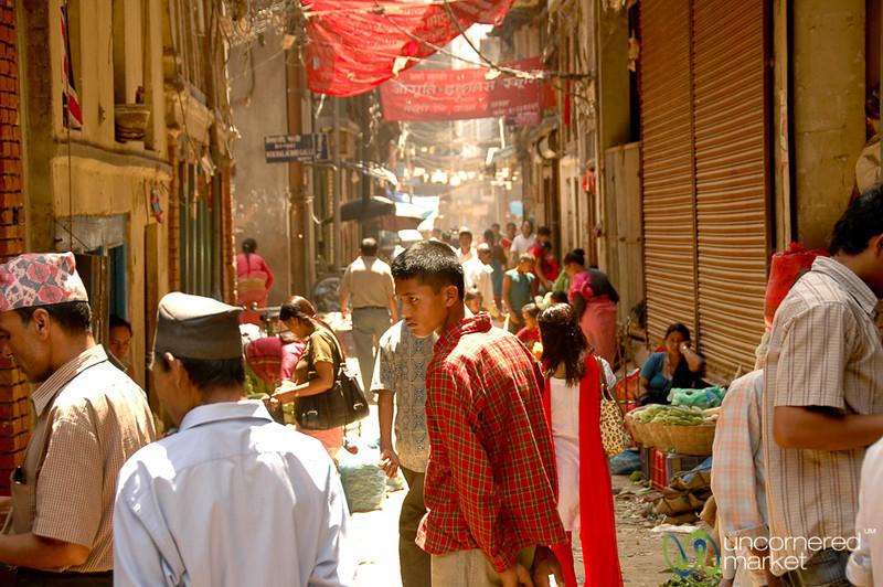 Street Scene in Kathmandu, Nepal