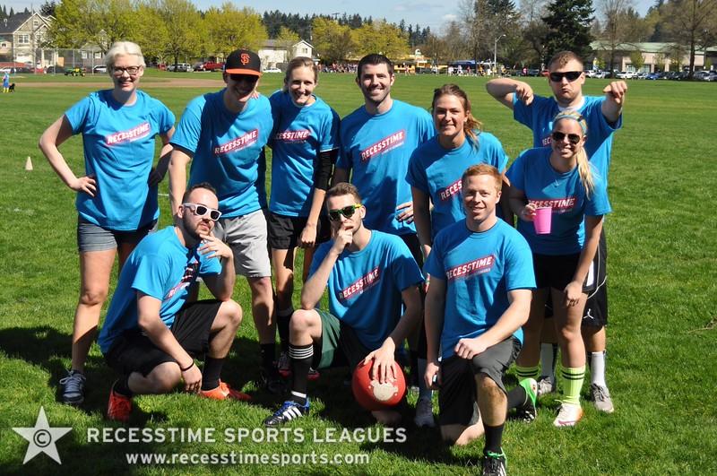 Recesstime Portland Kickball