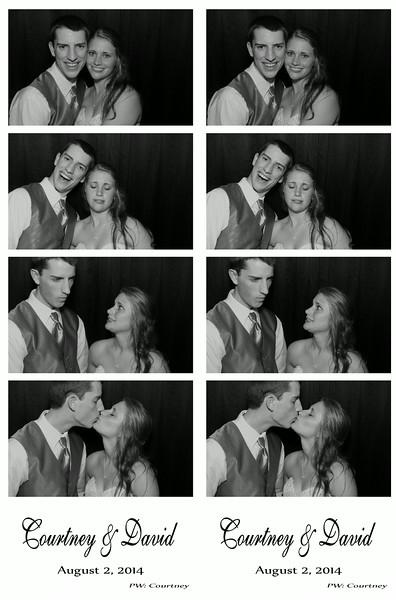 Courtney & David August 2, 2014