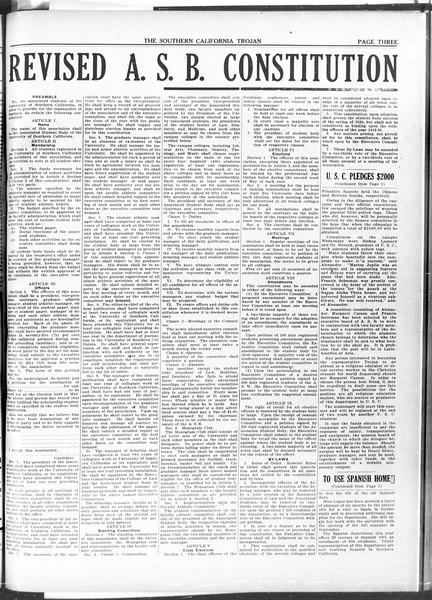 The Southern California Trojan, Vol. 11, No. 85, April 16, 1920
