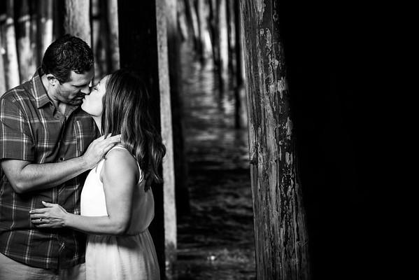 Autumn and Art (Engagement/Family Photography) @ Capitola Beach, California