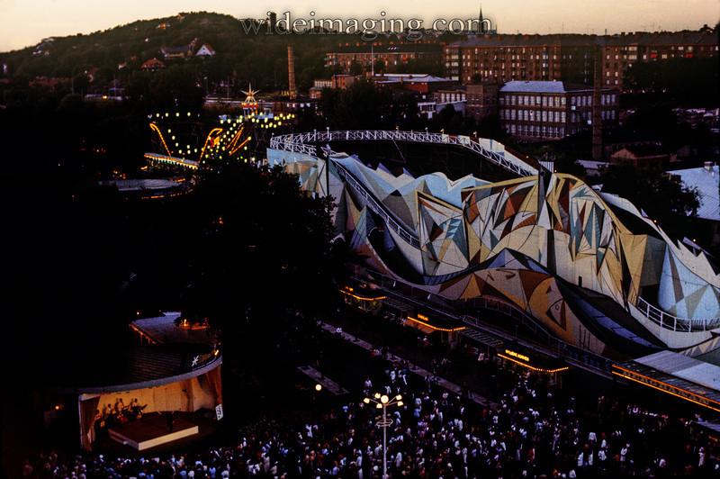 Liseberg amusement park July 1971