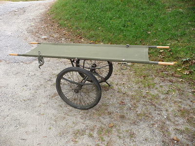 WHEELED LITTER CARRIER (8)