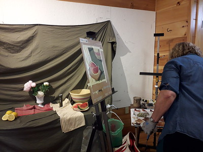 LUCY MacGILLIS WORKSHOP AT BLACK POND