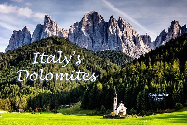Italy's Dolomites 2019