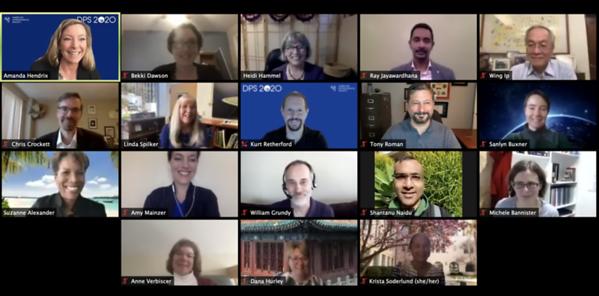 DPS 52: Oct. 2020 - Virtual