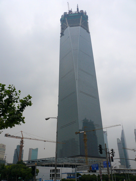 Shanghai World Trade Center, June 2007