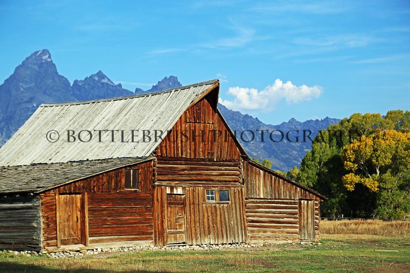 Mormon Row, Grand Teton National Park.