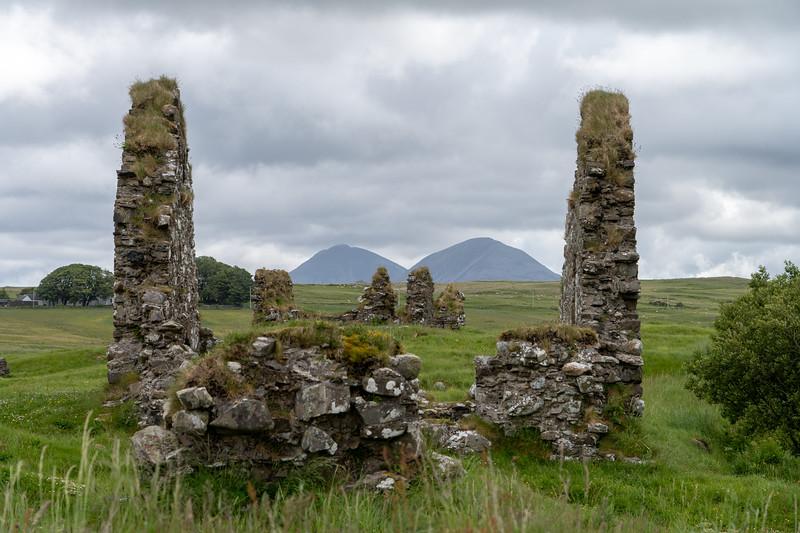 Finlaggan historic site on Islay