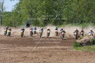 Moto 1 450 Am  Hogback May 17, 2009