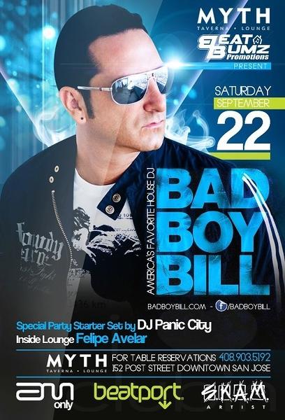 Bad Boy Bill @ Myth Taverna & Lounge 9.22.12