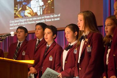 Latin School Rosary Prayer Service –October 6, 2017