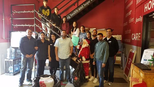PICO - December 2016 Volunteering - Project CURE