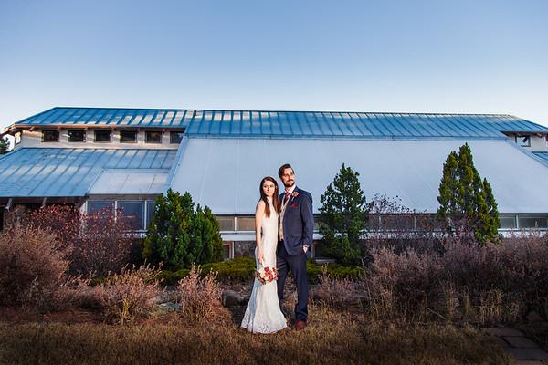 Ashley and Andrew   Flagstaff Arboretum Wedding