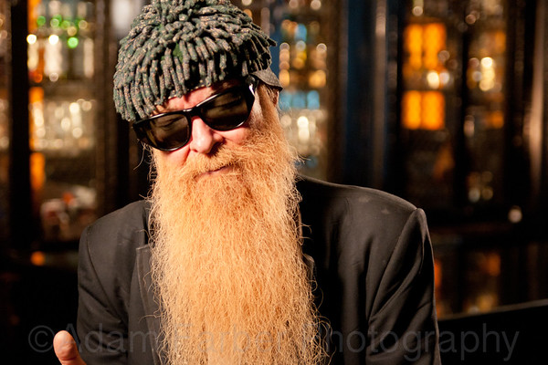 Billy Gibbons - Interview Portraits, NYC, 2011