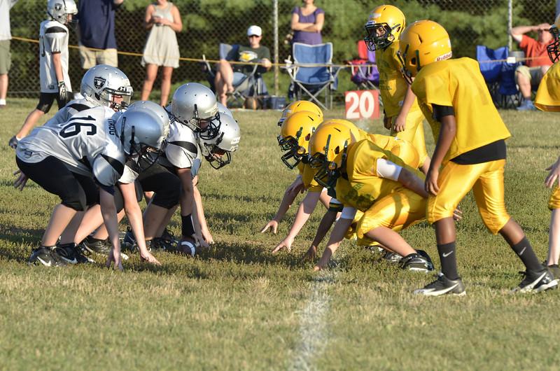 Wildcats vs Raiders Scrimmage 140.JPG