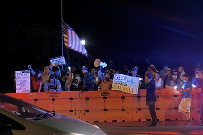 Laguna Beach Protests