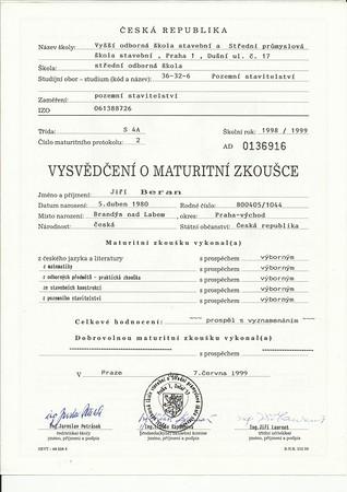 SPŠS_Střední škola_Maturitní zkouška