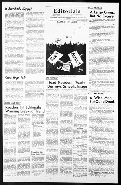 Daily Trojan, Vol. 57, No. 23, October 20, 1965