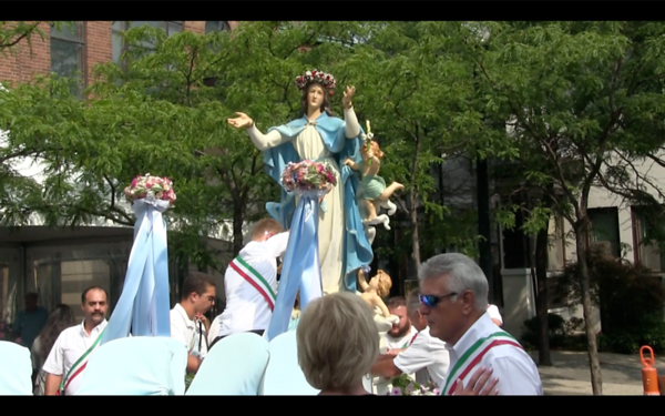 Feast of Assumption, Little Italy, Cleveland, OH, Tue., Aug. 15, 2017