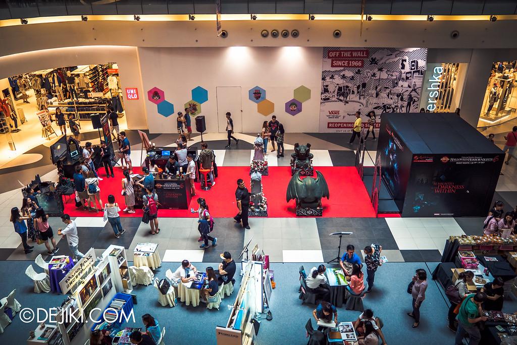 Universal Studios Singapore - Halloween Horror Nights 6 Before Dark Day Photo Report 2 - Roadshow 2 overview