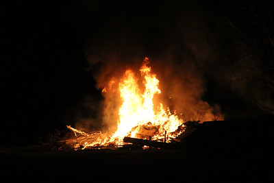 Fire Response, False Alarm, Burn Pile, Penn Drive, SR443, West Penn Township (8-28-2013)