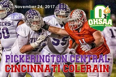 2017 OHSAA Pickerington Central versus Cincinnati Colerain (11-24-17)