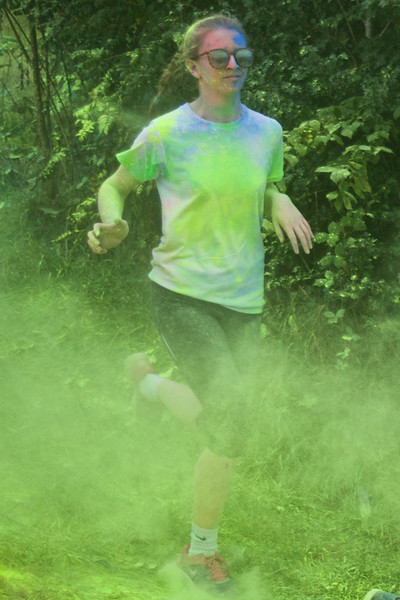 Jogging through the mist of yellow