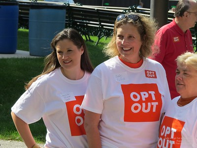 Opt Out Rally PEOPLE Aug 31 2019 part 1