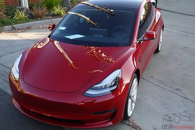 Tesla Model 3 - Multi-Coat Red 5