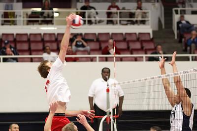 2010-04-29 Men's NCAA Volleyball - MPSF Championship - Semi 1 - CSUN vs. BYU