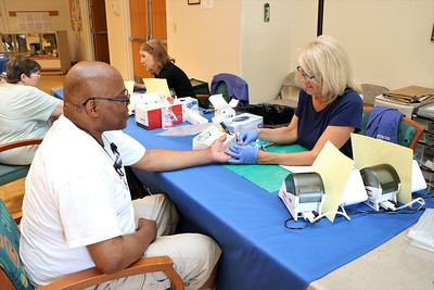 Mills and Benson Health Fairs