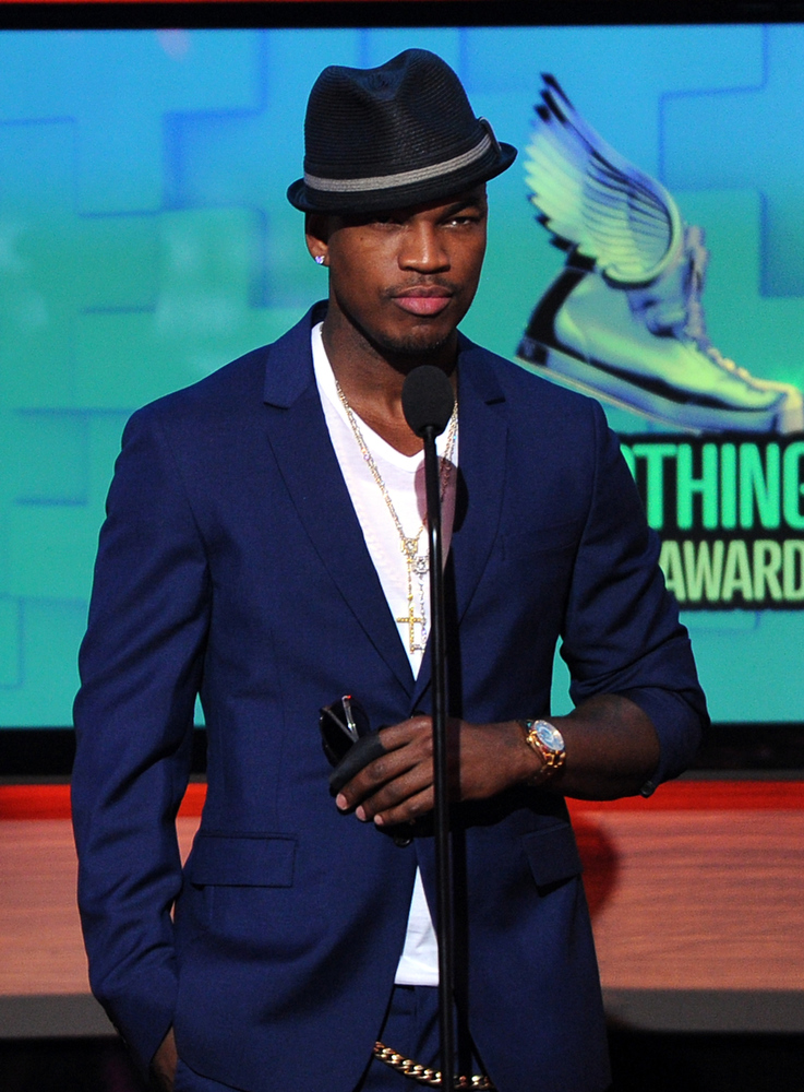 . Recording Artist Ne-Yo speaks onstage at the DoSomething.org and VH1\'s 2013 Do Something Awards at Avalon on July 31, 2013 in Hollywood, California.  (Photo by Kevin Winter/Getty Images)