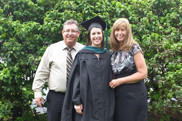 Kristen's Masters Graduation