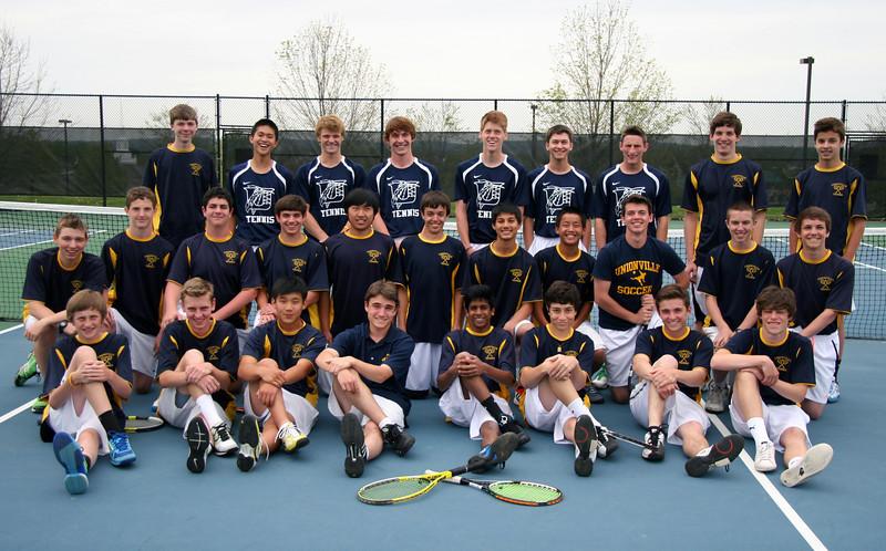 UHS Boys Tennis Team 2012.jpg