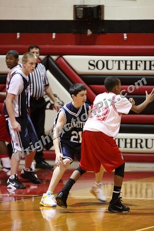 2009 01 10 Freshman Basketball Game vs. Southfield Lathrup