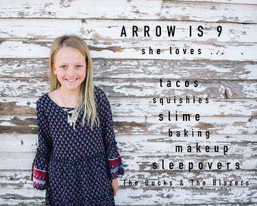 Arrow Christenson - 9 years old