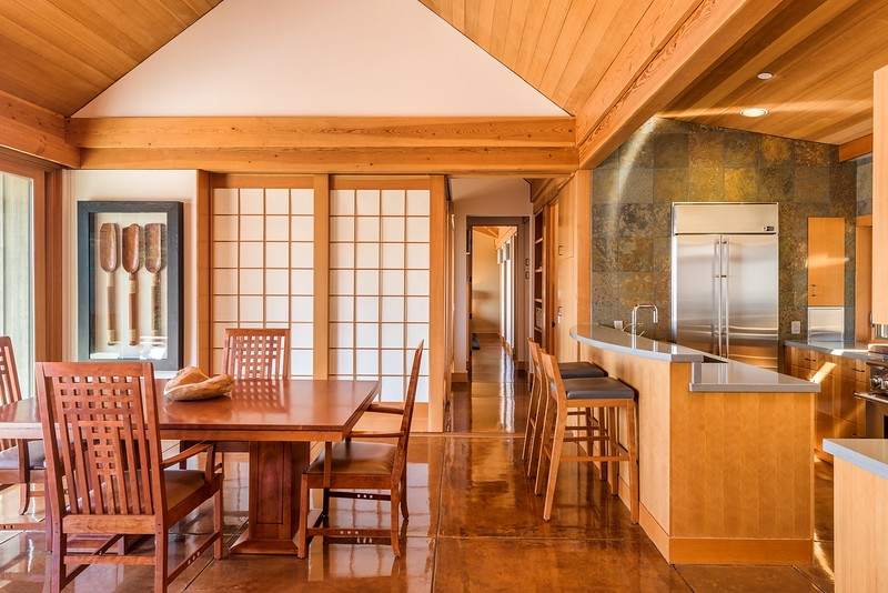 Dining Area with Closed Shoji Screens