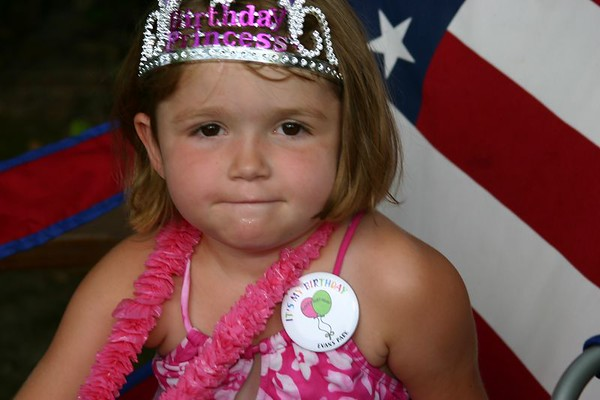Siobhan's 4th Birthday Party - July 25th