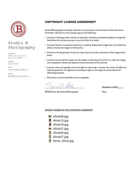 Copyright License - Perez, Alicia 2019-09-20