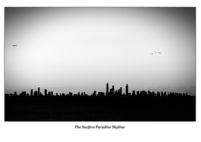 The Surfers Paradise Skyline