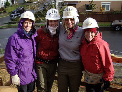 Let's Build a House Party Volunteer Day @ Issaquah 11-18