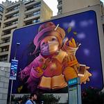 Artwork in Santiago, Chile