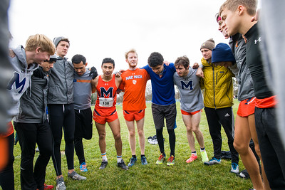 2019 11 02 Men at MIAC Conference Meet