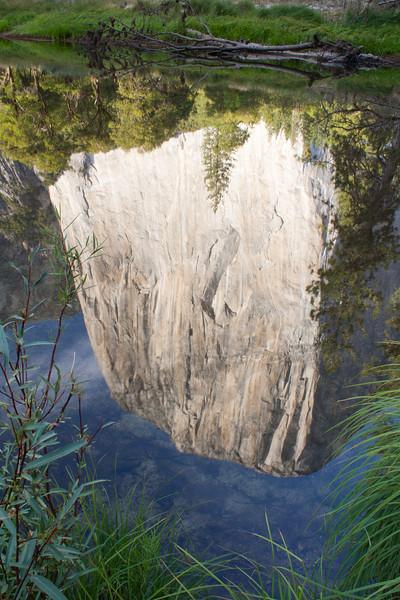 Reflection of El Capitan, Yosemite