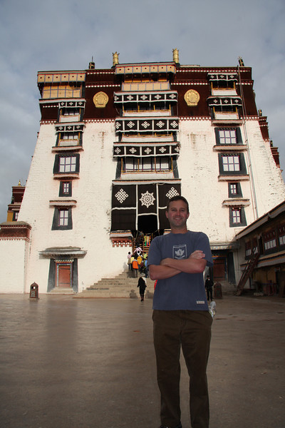 The Potala Palace, Lhasa: The former home of the Dalai Lama.