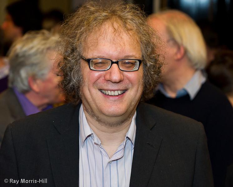Jon Speelman at the evening reception