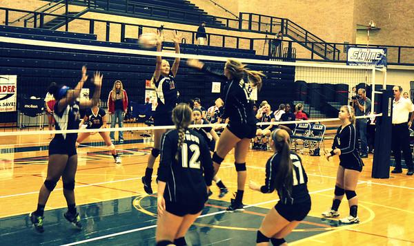 BL JV Volleyball vs Allen @ Texas Open (09/29/2012)