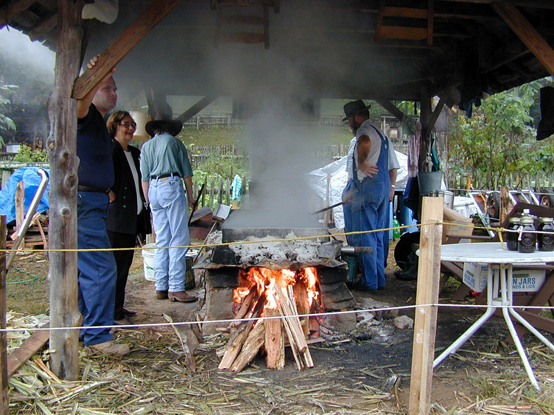 Sorghum Reduction at the Museum of Appalachia
